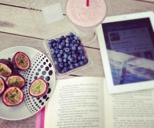 book, gig, and passionfruit image