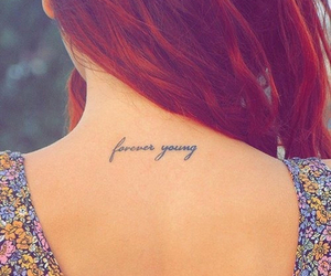 tattoo, Forever Young, and young image