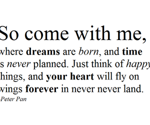 forever, peter pan, and text image
