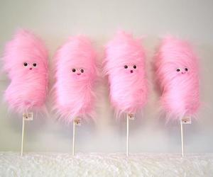 pink, candy, and cotton candy image