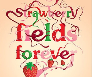 the beatles, strawberry fields forever, and beatles image
