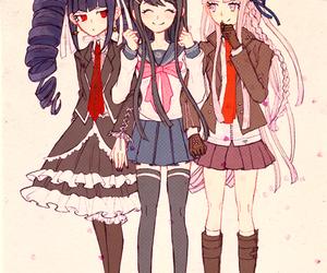 celestia ludenberg, anime, and maizono sayaka image