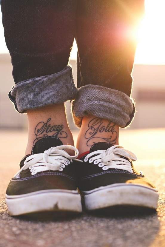 Stay Gold Pony Boy Tattoos On We Heart It Read stay golden, ponyboy from the story liridia by emmsiebear1402 (bingpot) with 4 reads. stay gold pony boy tattoos on we