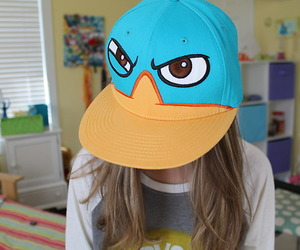 perry, cool, and hat image