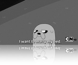 bed, black and white, and cartoon image