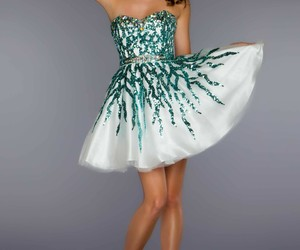 dress, sequins, and cocktail dresses image