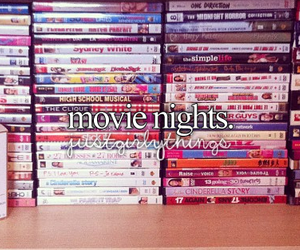 movie, night, and movies image