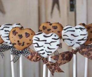 zebra, cake pops, and cheetah image