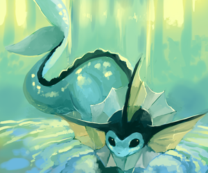 pokemon and vaporeon image