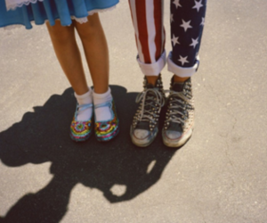 vintage, shoes, and usa image