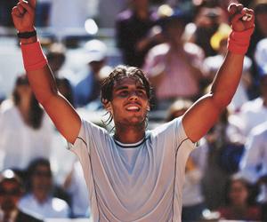 champion, Rafael Nadal, and tennis image