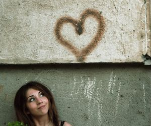 heart, hearts, and in love image