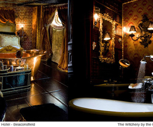antique, baroque, and bath image