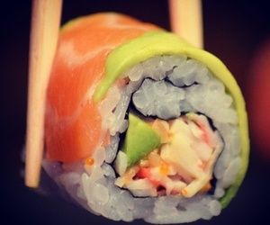 food, sushi, and health image