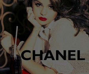 chanel, selena gomez, and vintage image