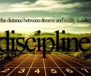 discipline, motivation, and Dream image