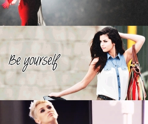 be yourself, demi lovato, and selena gomez image