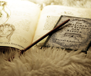 book, farytale, and harry potter image