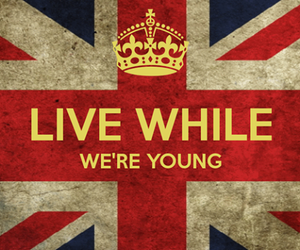 one direction, lwwy, and live while we're young image