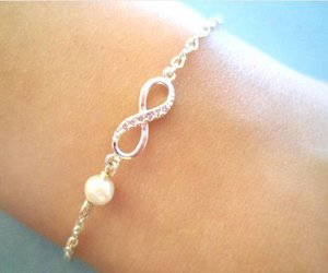 bracelet, infinity, and cute image