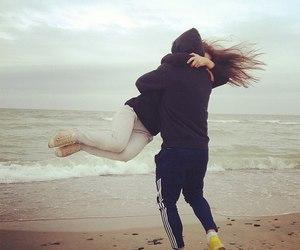 boyfriend, sea, and ♥ image