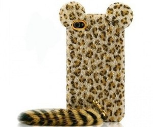 leopard, iphone, and case image
