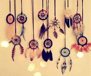 Dream, love, and dreamcatcher image