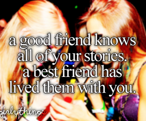 best friend, girls, and text image