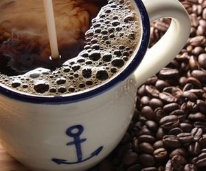 coffee, anchor, and cup image