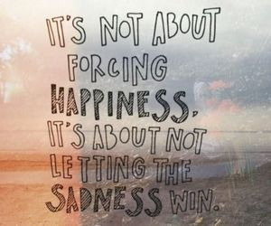 quotes, happiness, and sadness image