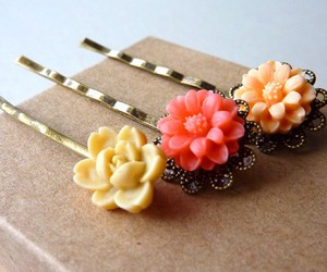 accessories, bridesmaids, and flowers image