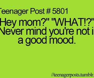 teenager post, mom, and quote image