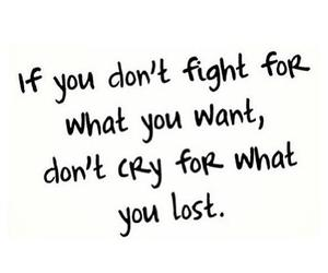fight, quotes, and cry image