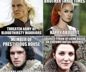 nutshell, game of thrones, and jon snow image