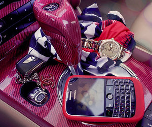 pink, blackberry, and car image