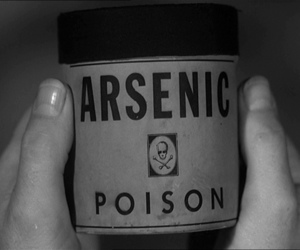 poison, arsenic, and black and white image
