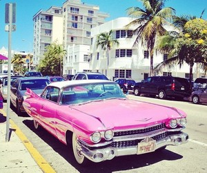 cars, Miami, and summer image