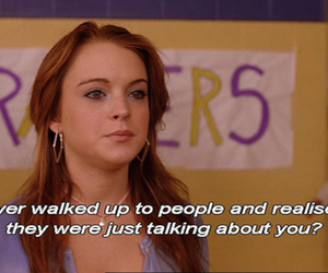 mean girls, lindsay lohan, and quote image