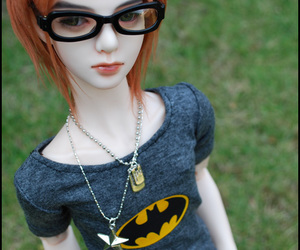 bjd, doll, and ginger image