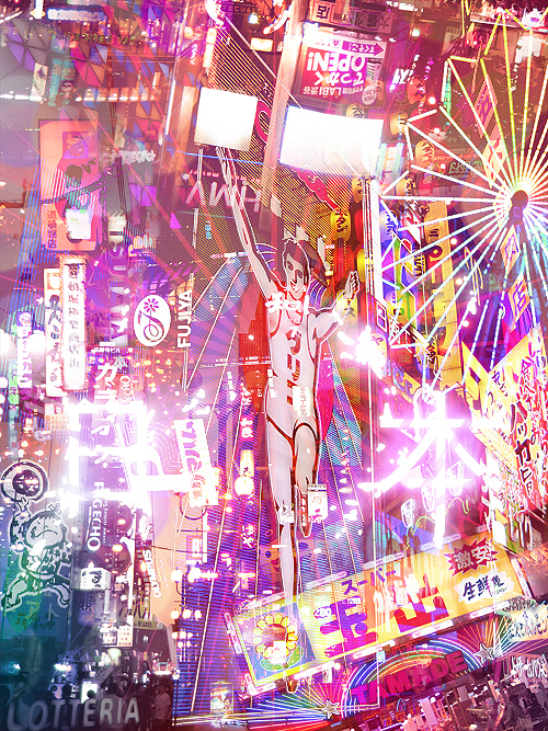 Japan, The Neon Empire by =denkyo on We Heart It