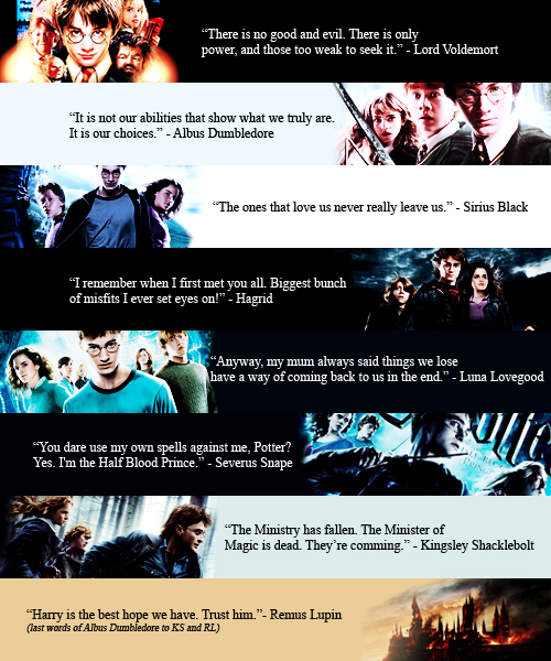 Image About Quotes In Harry Potter By Gurunduce