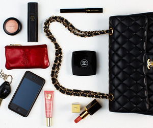 chanel, YSL, and iphone image