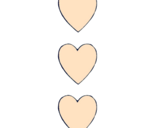 hearts, heart, and pink image