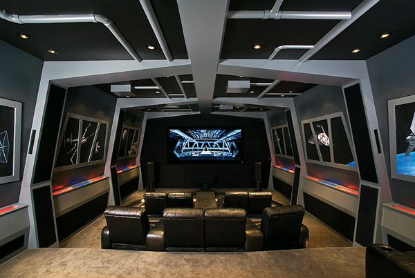 . luxury video game room   Google Search on We Heart It