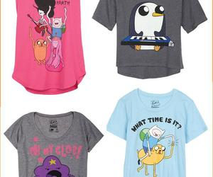 adventure time and t-shirt image