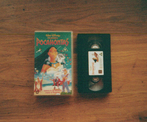 disney, pocahontas, and vintage image
