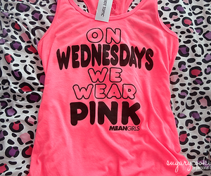 pink, fashion, and wednesday image