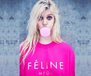 pink, blonde, and Taylor Momsen image