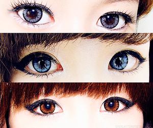 eyes, asian, and ulzzang image