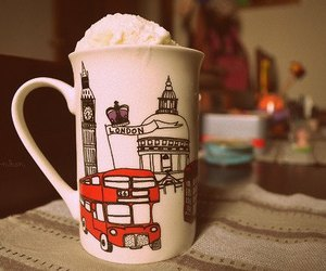 london, cup, and mug image